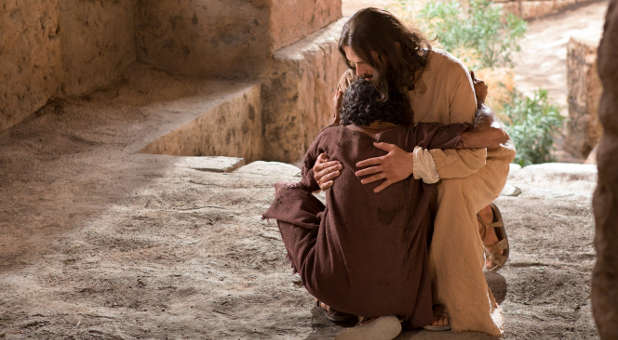 Just as Jesus showed compassion to a blind man, so must we show love and compassion to others.
