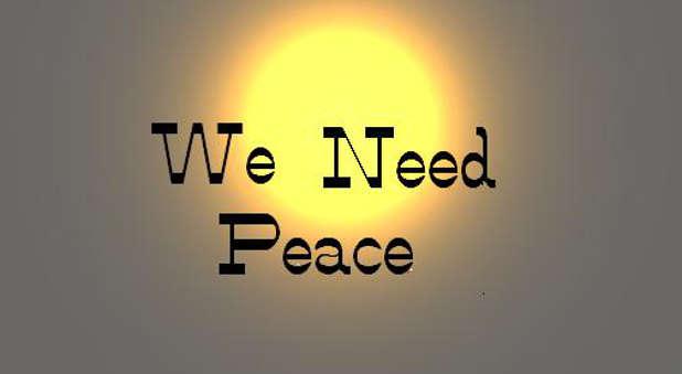 we-need-peace