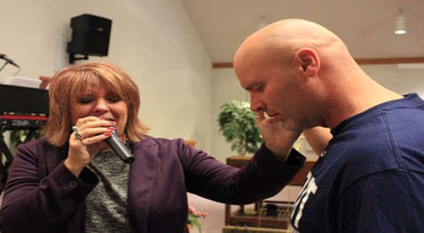 Kathy-praying
